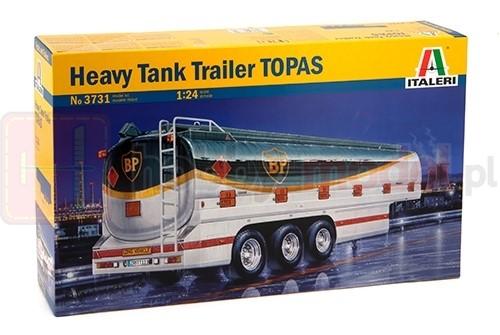 ITALERI 3731 Naczepa Heavy Tank Trailer TOPAS