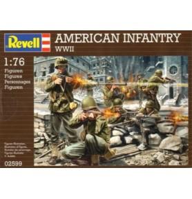REVELL 02599 Amerykańska piechota WWII (zestaw)