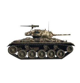 ITALERI 36504 Czołg World Of Tanks: M24 Chaffee