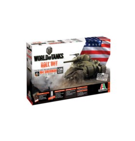 ITALERI 56503 Czołg World Of Tanks: M4 SHERMAN