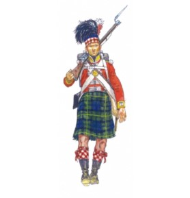 ITALERI 6136 Figurki Szkocka piechota