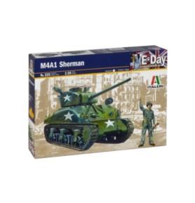 ITALERI 0225 Czołg amerykański M4A1 Sherman