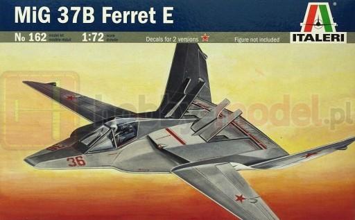 ITALERI 0162 Samolot stealth MIG-37B