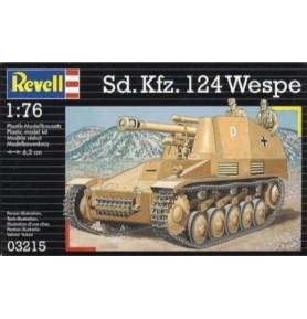 REVELL 03215 Haubica samobieżna Sdkfz 124 Wespe 1/76