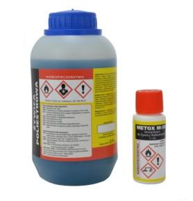 Żywica poliestrowa 0,5kg + utwardzacz Metox M-50 10g