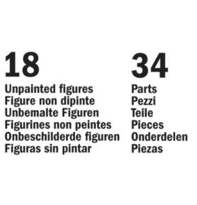 ITALERI 6065 Figurki Brytyjski i pruski sztab generalny