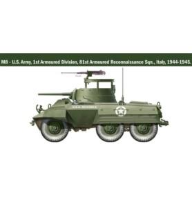 ITALERI 15759 Samochód WWII M8/M20