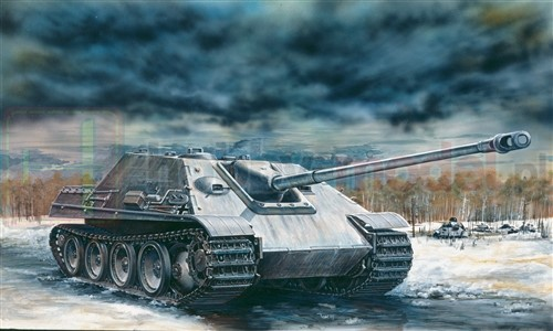 ITALERI 7048 Niszczyciel SdKfz 173 Jagdpanzer