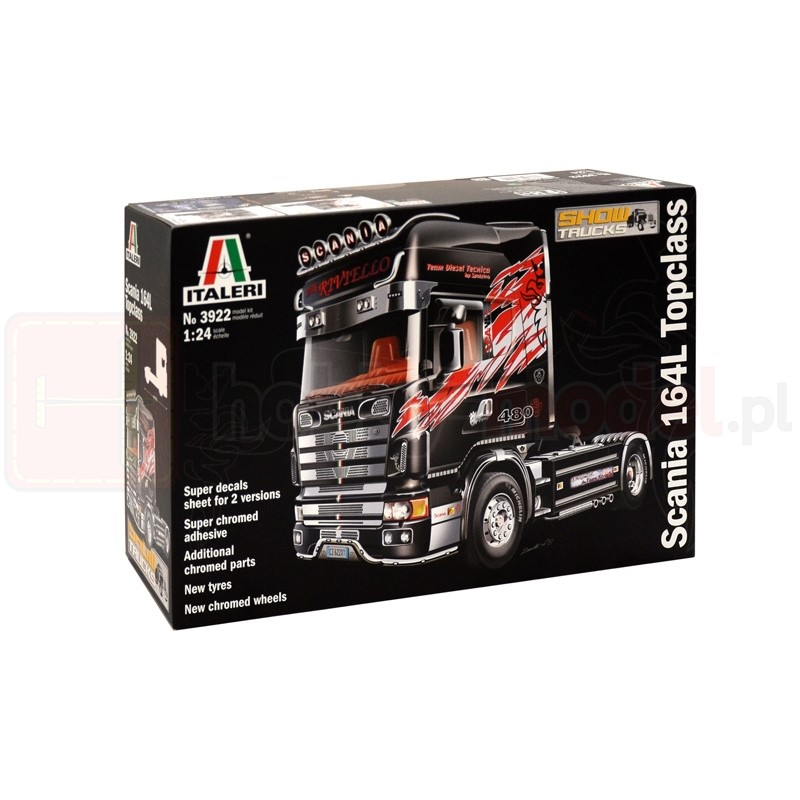 ITALERI 3922 Ciągnik Scania 164L TopClass