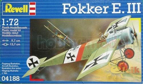 REVELL 04188 Myśliwiec Fokker E III