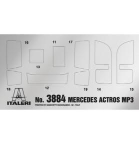 ITALERI 3884 Ciągnik Mercedes-Benz Actros MP3