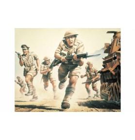 AIRFIX 00709 Piechota brytyjska 8 Armia WWII