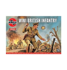 AIRFIX 00727 Piechota brytyjska WWI