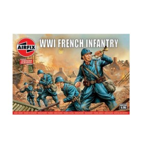 AIRFIX 00728 Piechota francuska WWI