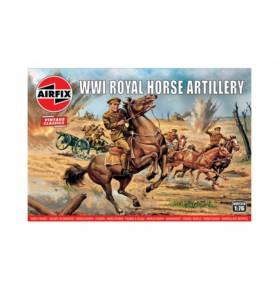 AIRFIX 00731 Kawaleria Królewskiej Konnej Artylerii WWI
