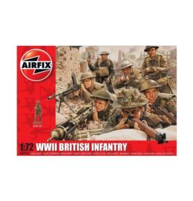 AIRFIX 00763 Piechota brytyjska WWII