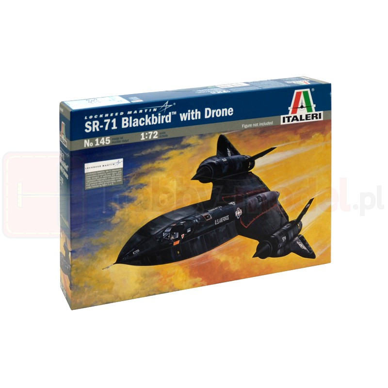 ITALERI 0145 Samolot zwiadowczy Blackbird SR-71