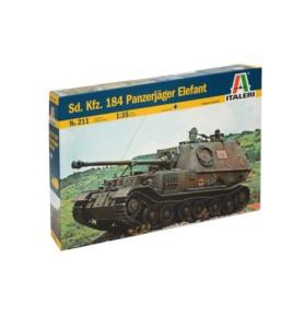 ITALERI 0211 Niszczyciel czołgów Tiger Elefant (Sd.Kfz 184)