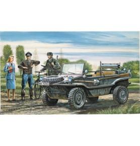 ITALERI 0313 Samochód osobowo-terenowy Schwimmwagen