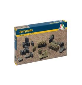 ITALERI 0402 Zestaw kanistrów wyposażenia militarnego