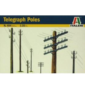 ITALERI 0404 Zestaw słupów telegraficznych