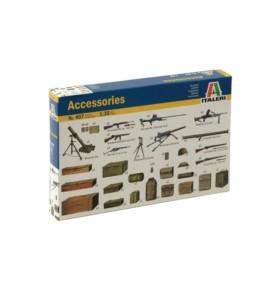 ITALERI 0407 Akcesoria militarne + bronie