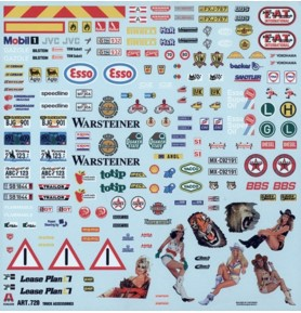 ITALERI 0720 Akcesoria do ciężarówek
