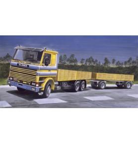 ITALERI 0770 Samochód ciężarowy Scania 142H z naczepą