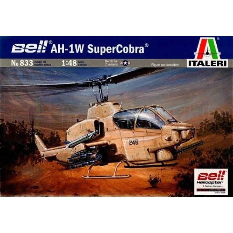 ITALERI 0833 Śmigłowiec Bell Ah-a 1w Supercobra
