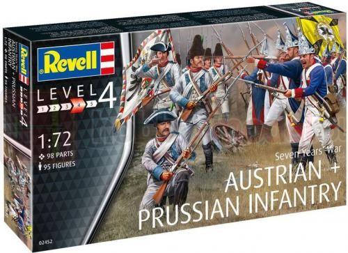 REVELL 02452 Wojna siedmioletnia (piechota)