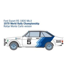 ITALERI 3655 Samochód Ford Escort Rs 1800 Mk.II