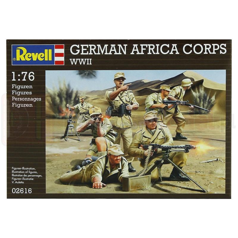 REVELL 02616 Niemiecki korpus ekspedycyjny Afrika Korps WWII
