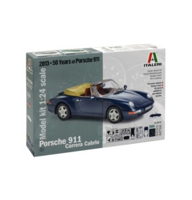 ITALERI 3679 Samochód Porsche 911 Carrera Cabrio