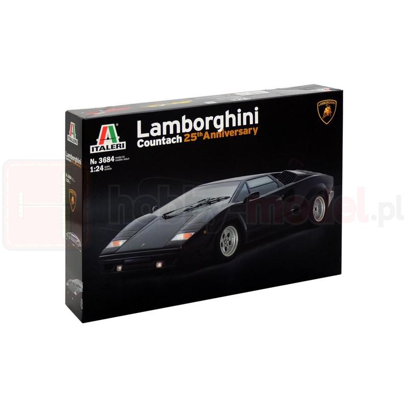 ITALERI 3684 Samochód Lamborghini Countach 25th
