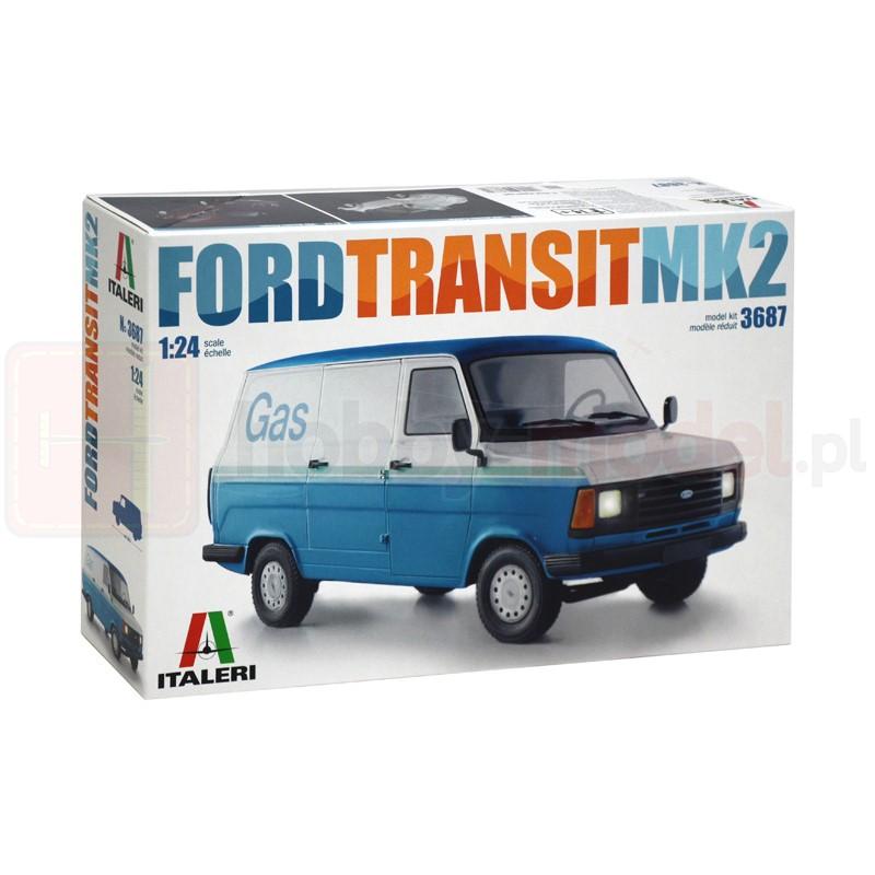 ITALERI 3687 Samochód Ford Transit Mk.ii (zestaw)