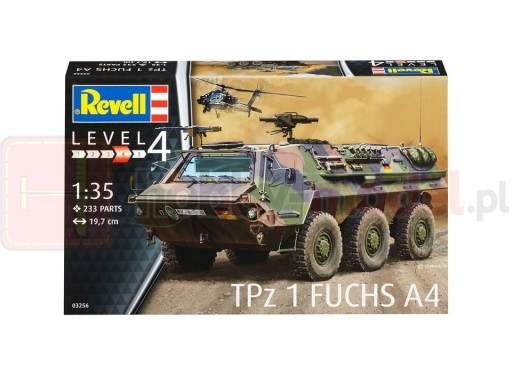 REVELL 03256 Opancerzony transporter TPZ 1 Fuchs