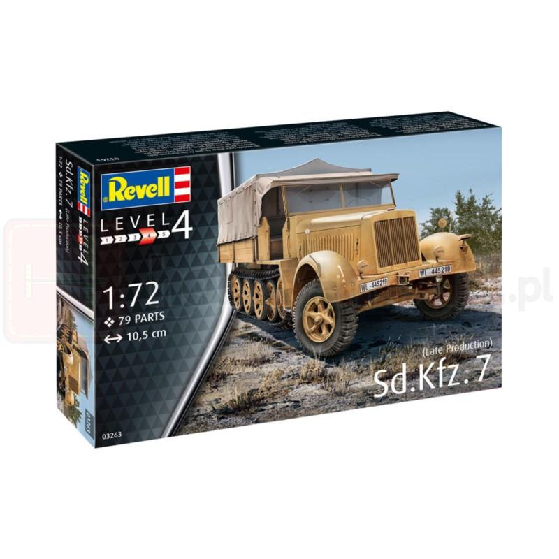 REVELL 03263 Ciągnik artyleryjski Sd.Kfz. 7