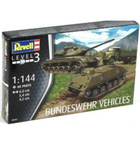 REVELL 03351 Zestaw pojazdów wojskowych Bundeswehry