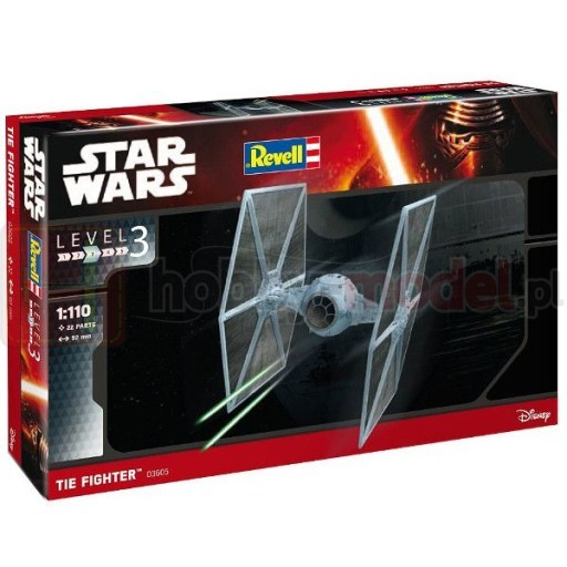 REVELL 03605 Myśliwiec Tie Fighter