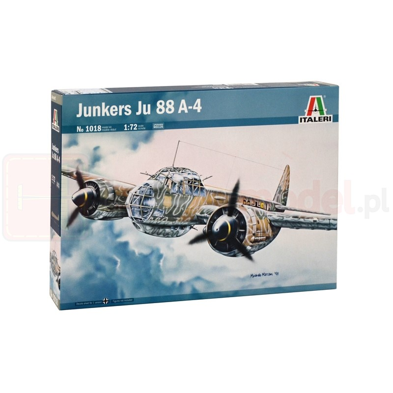 ITALERI 1018 Samolot Junker JU-88 A4