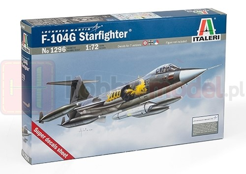 "ITALERI 1296 Samolot myśliwski F-104 G ""Recce"""
