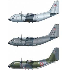 ITALERI 1311 Samolot G.222 Panda/C-27A