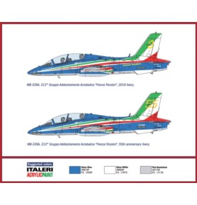 ITALERI 1380 Samolot MB-339A P.A.N. (2016 Livery)