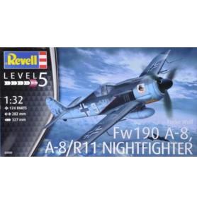 REVELL 03926 Samolot myśliwski Focke Wulf FW190A-8 Night