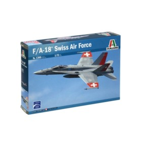 ITALERI 1385 Myśliwiec F/A-18 Hornet Swiss Air Force