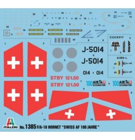 ITALERI 1385 Myśliwiec F/A-18 Hornet Swiss Air Force