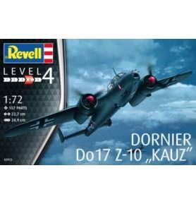 REVELL 03933 Samolot bomobwy rozpoznawczy Dornier D0 17Z-10