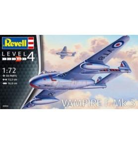 REVELL 03934 1/72 Odrzutowiec Vampire F Mk.3