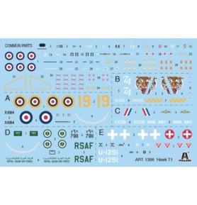 ITALERI 1396 Samolot Hawk T1