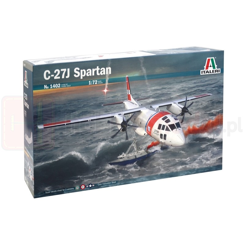 ITALERI 1402 Samolot transportowy C-27J Spartan
